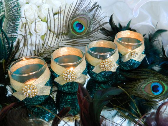 Weddings Wedding Candles Candle Holder Votives by KPGDesigns, $59.95