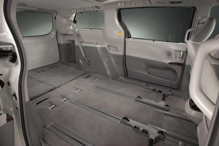 Toyota Sienna Interior Seats Removed Minivan To Camper