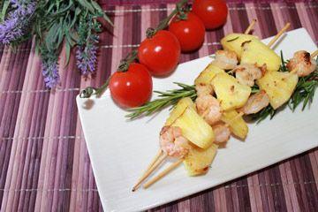 Buongiorno :) cercate un'idea #smodatamente e #golosamente facile ma ghiotta per il pranzo della domenica? Eccola: #spiedinidigamberettieananas  -> http://www.smodatamente.it/ricetta-spiedini-gamberetti-ananas/
