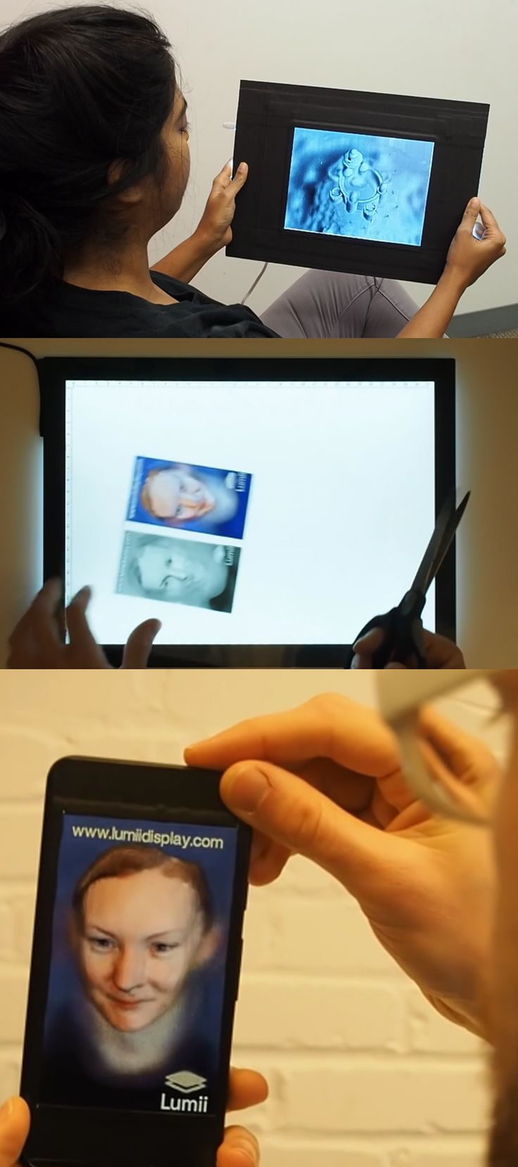 Upgrade your images and print 3D hologram right from your Inkjet printer. Check it out==>   Create 3D Hologram Images With Inkjet Printers Using Lumii!   http://gwyl.io/hologram-images/