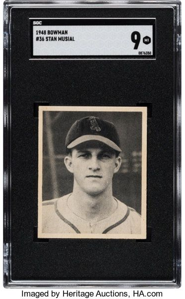 Baseball Cardssingles 1940 1949 1948 Bowman Stan Musial