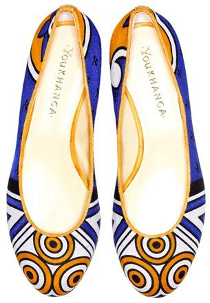you khanga ballet shoes- italian quality and africanculture