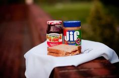 Want to take a fun twist on your unity ceremony - and get a yummy snack in the middle of your ceremony? Then a peanut butter and jelly ceremony is just what you're looking for. You see, peanut butter and jelly are two totally different things on their own but when you pair them together, magic happens! Connect this idea to your marriage and you've got a fun and creative unity ceremony.