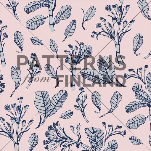 Garden – Rauha by Ammi Lahtinen  #patternsfromagency #patternsfromfinland #pattern #patterndesign #surfacedesign #ammilahtinen