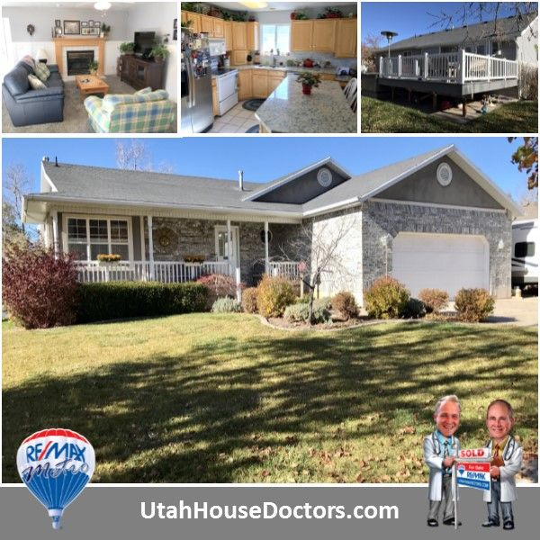 168 S 550 W, Layton 4 Bedrooms | 2.75 Baths | 2,916 Sqft  Great Layton rambler, granite counter tops, tile back splash, maple cupboards, big pantry, fridge included, great room, living room with window seats & wainscoting, master bedroom w/walk-in closet, separate jetted tub & shower, main floor laundry, updated furnace & central air, huge trex deck, private back yard w/no neighbors, seller will leave brand new bull frog hot tub.  Call or text 801-529-2688 📲 Rodger Jessop