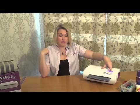 Crafters Companion- Gemini Education- Top tip using a quilted surface - YouTube