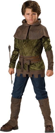 Robin Hood of Nottingham Kids Costume #Renaissance