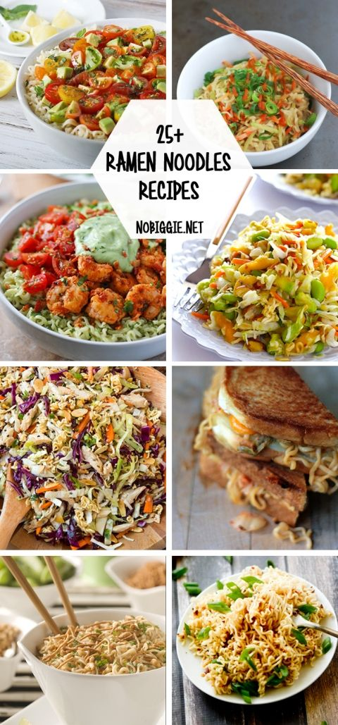 25+ Ramen Noodles Recipes | NoBiggie.net