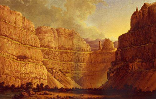 Palouse River. Lo spettacolare canyon roccioso alla confluenza nel Columbia River.