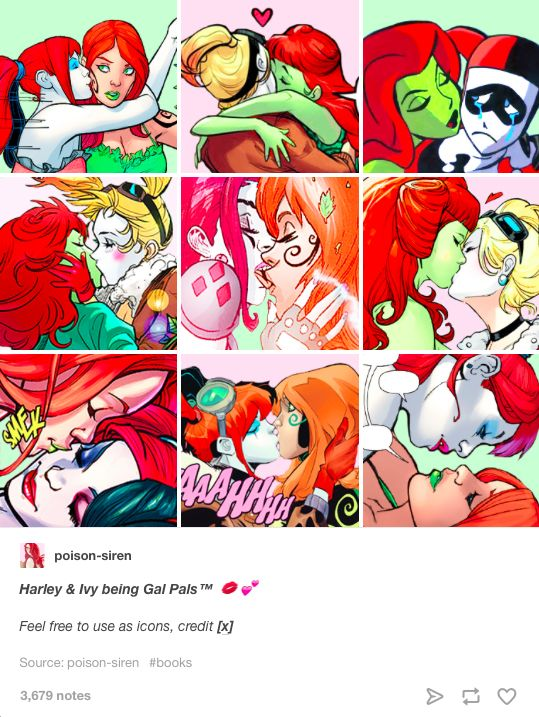 If you read Harley Quinn's New 52, you'll find out that Harley and Poison Ivy…