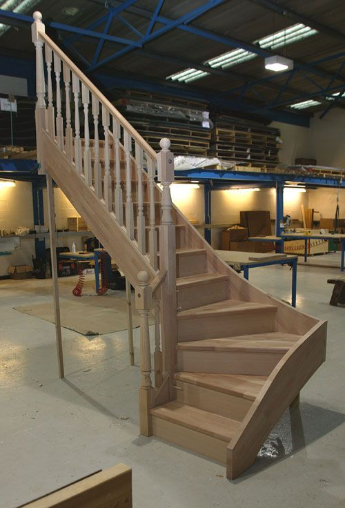 301 best stairs images on pinterest stairs anchors and for Building winder stairs