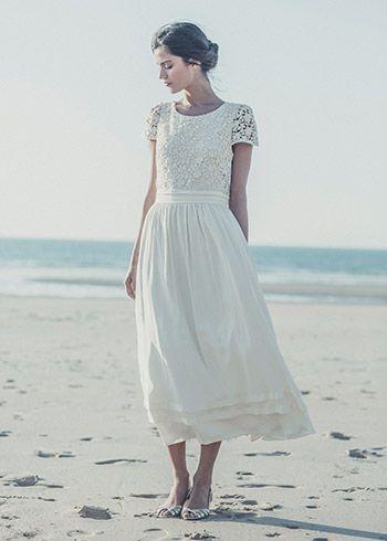 Met een jurk van Laure de Sagazan wil ik ook wel trouwen.
