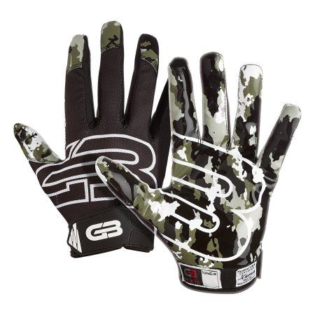Grip Boost Stealth Football Gloves Pro Elite, Black