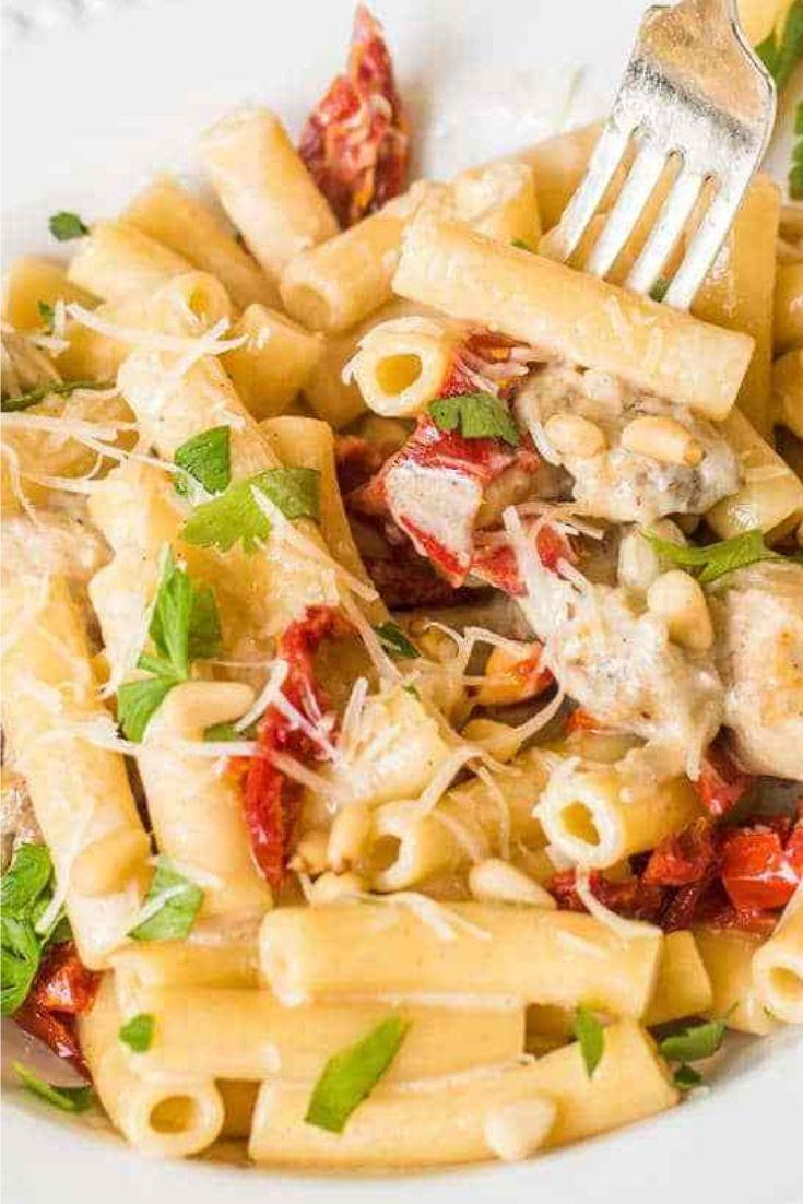 Delicious Chicken Alfredo Pasta Resep Makan Malam Sehat Resep Pasta Lauk Makan Malam