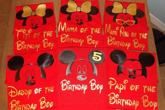 Disney famille chemises chemises chemises par CuteCreativesCreatio