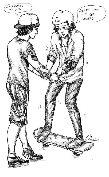 Larry Stylinson My Art Sketch Larry This Is A Repost Larry