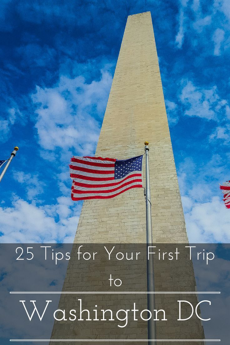 Interactive Map Usa Road Trip%0A    Tips for Your First Trip to Washington DC www casualtravelist com