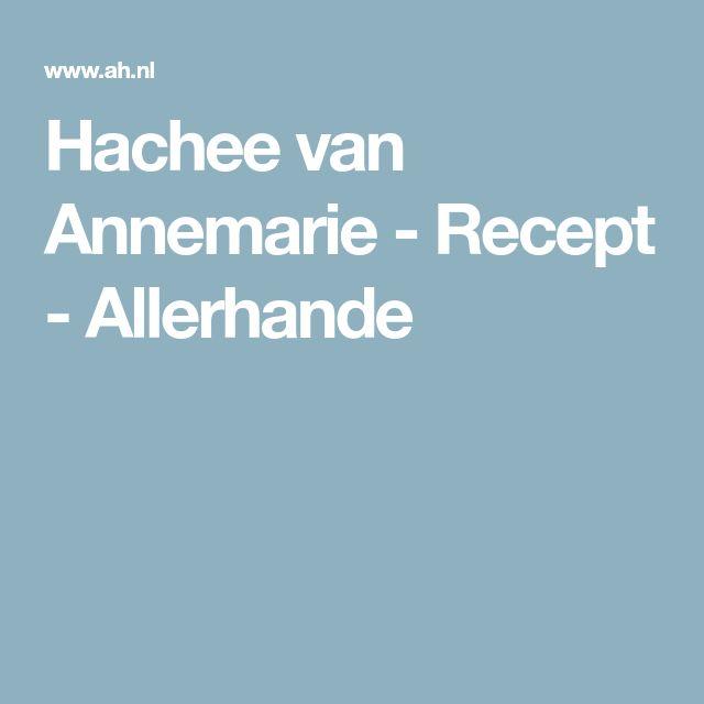 Hachee van Annemarie - Recept - Allerhande