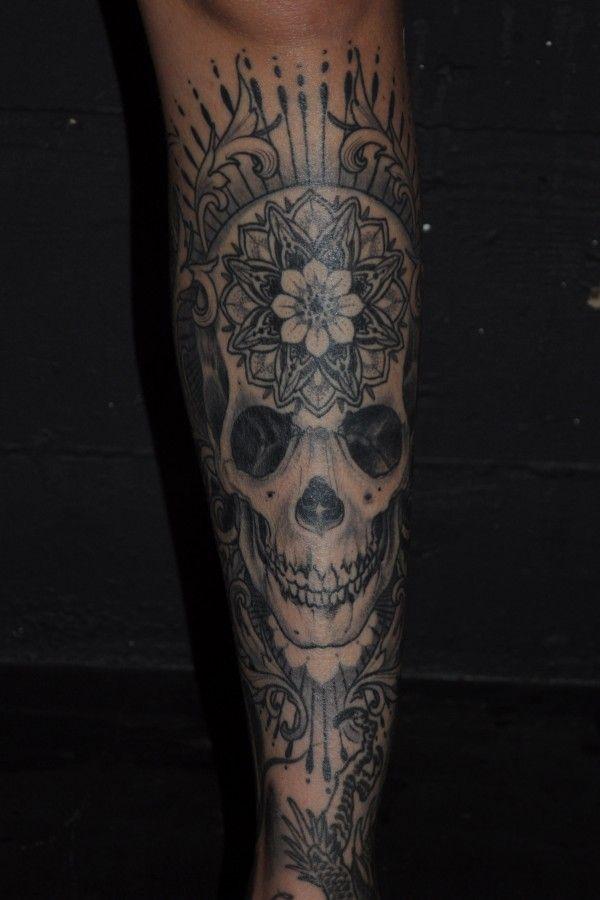 By Ryan Mason of Scapegoat Tattoo. Portland, OR