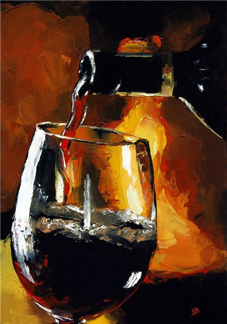 2015 best Still life images on Pinterest | Oil paintings, Wine art ...