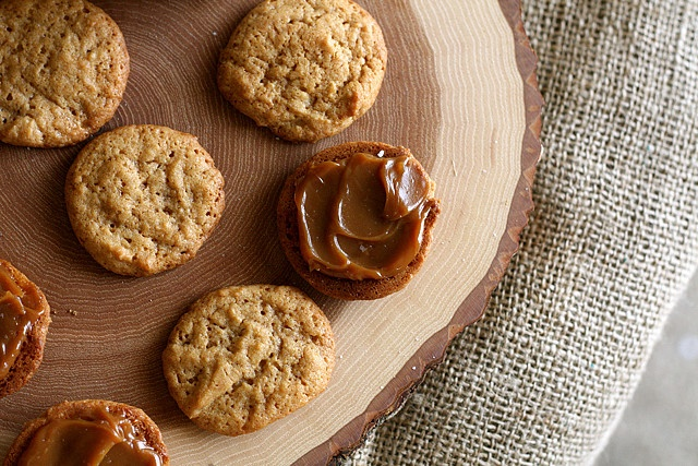 Dulce De Leche Sandwich Cookies Recipe — Dishmaps