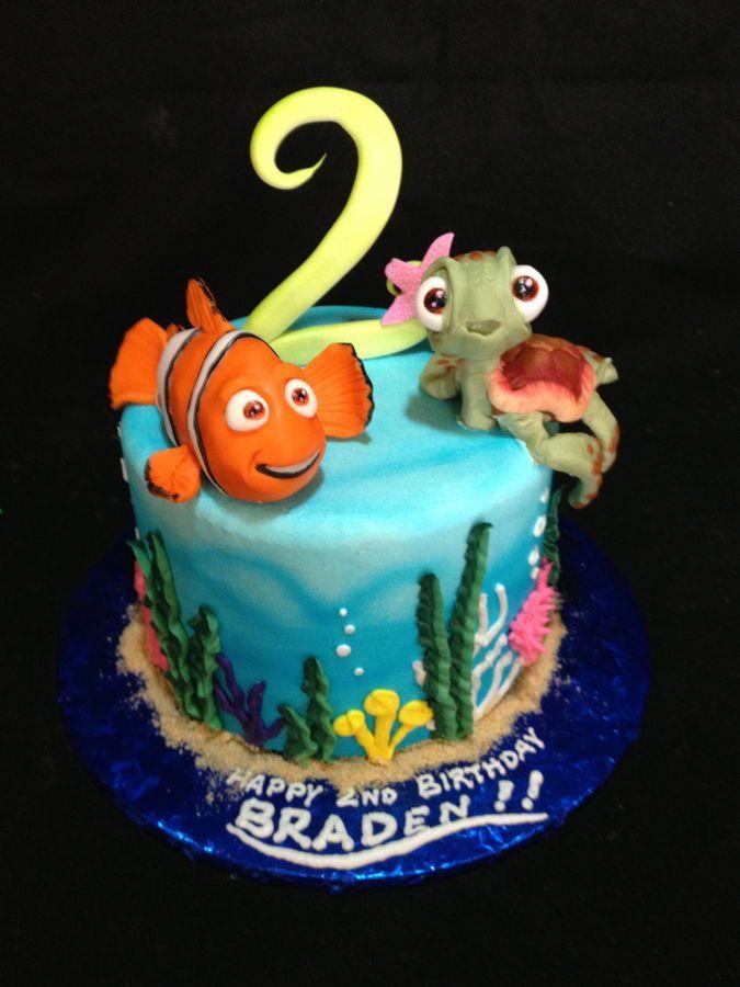 Cake Design Nemo : 25+ best ideas about Disney themed cakes on Pinterest ...