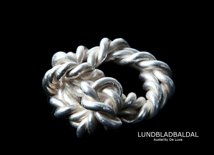 Ring ROPE. 925 silver.