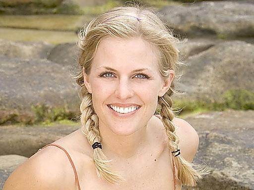 Sally Schumann, member of La Mina in Survivor Exile Island