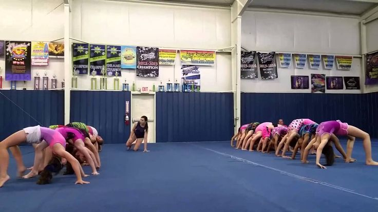 The BRIDGE Relay Race! (Gymnastics/Fitness/Kids)