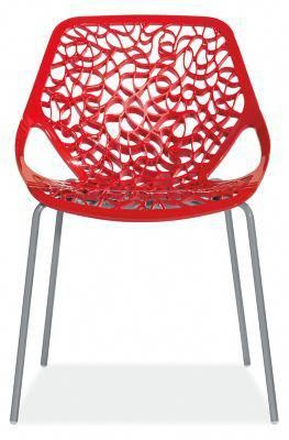 room board modern caprice side chair in nylon in outdoorchairs rh pinterest com