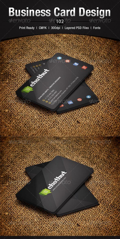 Business Card Design 102 90 best Print