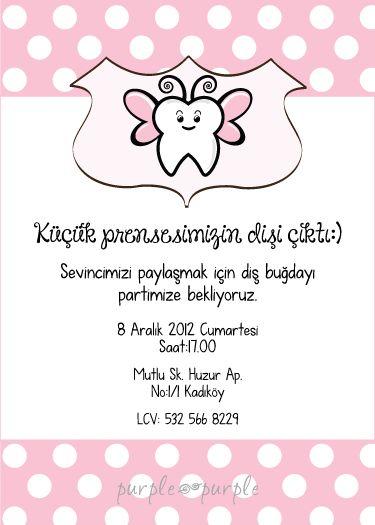 Küçük prensesin diş buğdayı davetiyesi – sama 22
