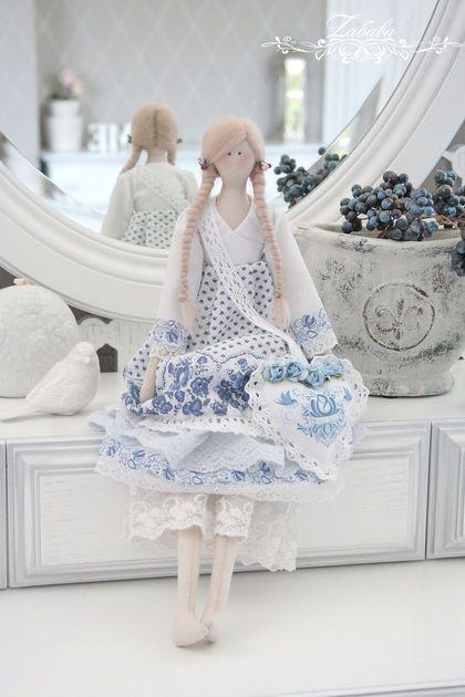 Куклы Тильды ручной работы. Ярмарка Мастеров - ручная работа Кукла в стиле Тильда Валери. Handmade.