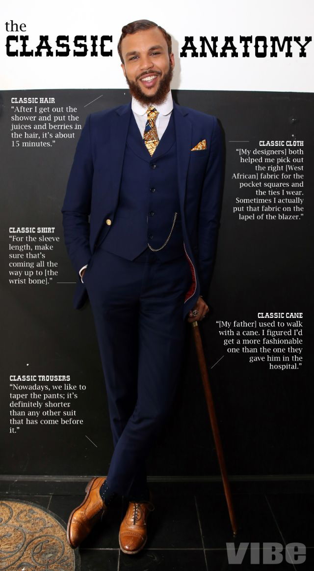 Distinguished Gentleman Jidenna S Guide To Being A Classic Man Jidenna Vibe 1 Fashion