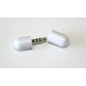 Mini Microphone Mic Recorder for Apple iPod / iPhone 3G 3G S-White  #Sale $2.85 while supplies last!