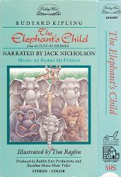 Amazon.com: The Elephant's Child: Jack Nicholson, Music Bobby McFerrin, Illustrator Tim Raglin: Movies & TV