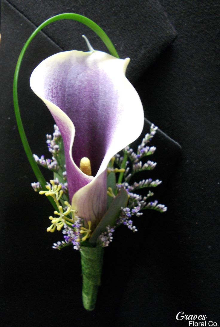 picasso call lily boutonniere - Google Search