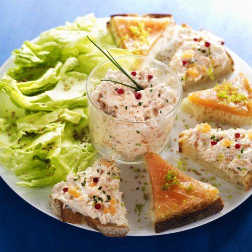 Découvrez la recette indispensable élaborée par les chefs de l'Institut Paul Bocuse sur Likeachef : Rillettes aux deux saumons.