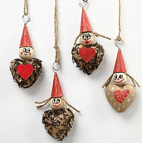 12020 Geur harten om de heerlijkste kerstgeuren in huis te brengen.