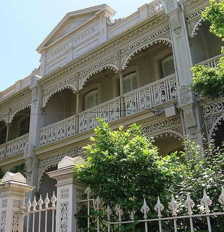 East Melbourne Terrace Homes