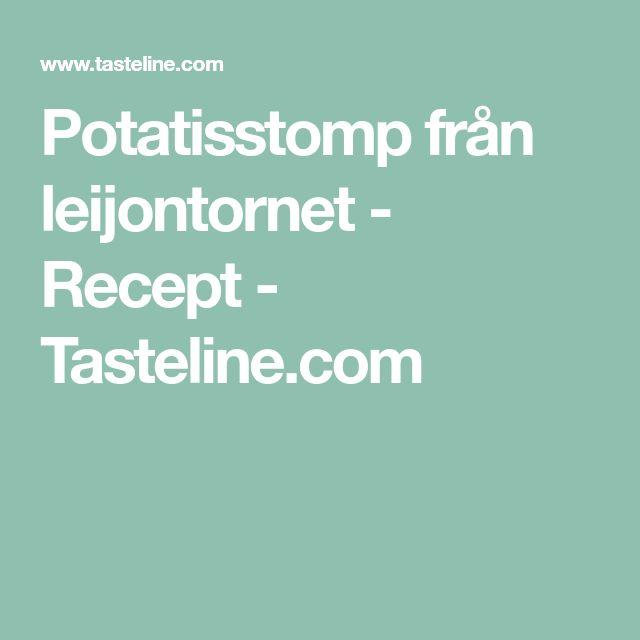 Potatisstomp från leijontornet - Recept - Tasteline.com