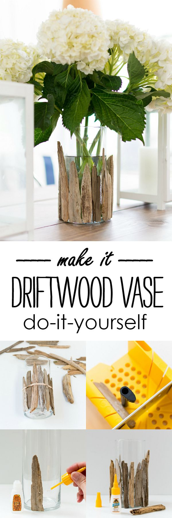 Driftwood Vase DIY & A $250 Gift Card Giveaway! - It All Started With Paint #GorillaTough #GorillaOfCourse #ad