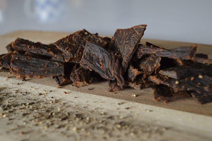 Black Pepper Beef Jerky. High protein, healthy snack option. Australian jerky, Yum!