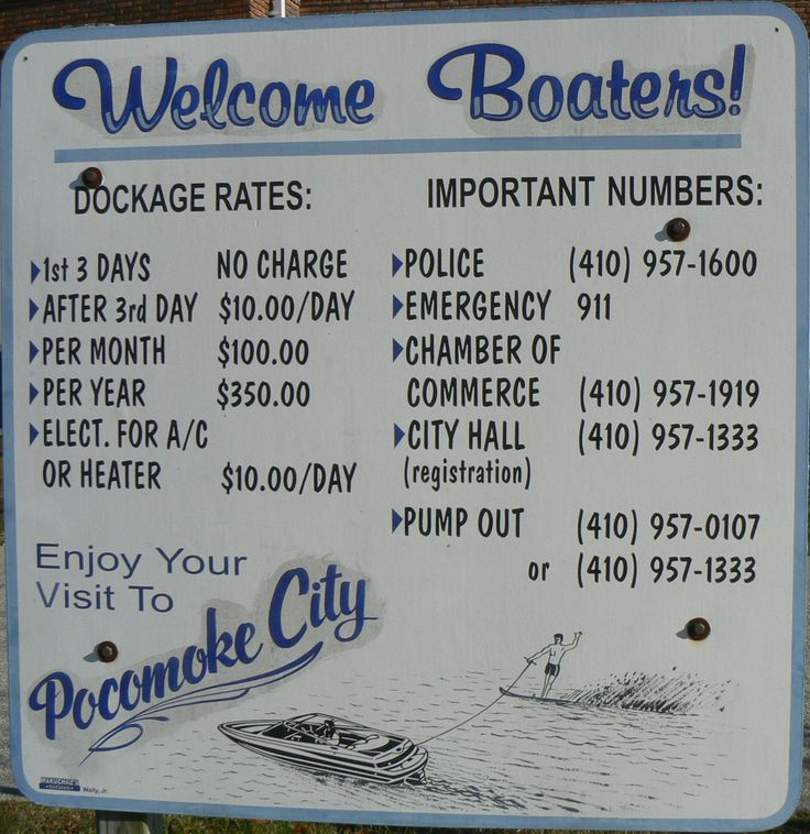 Pocomoke City Maryland welcomes boaters 14 best
