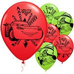 Disney Cars Neon Balloons - 11 Latex 8pk Suitable for air or helium inflation please see our range of disposable helium canisters Disney Cars Neon