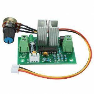 [Envoi GRATUIT 7~12 jours] 12V-24V Pulse Width PWM DC variateur de vitesse moteur contrôleur du commutateur // 12V-24V Pulse Width PWM DC…