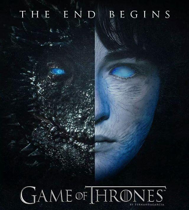 Season 7 fan made poster by fernandagarcia