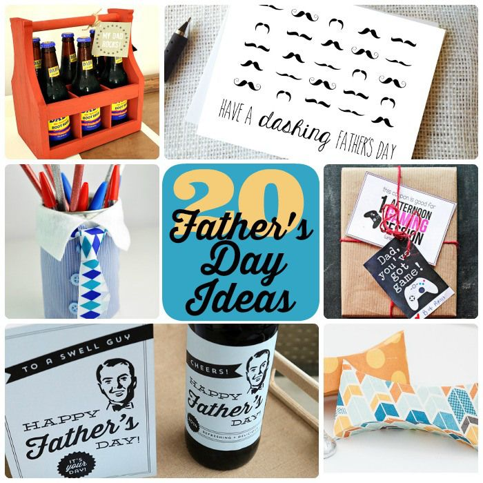 Great Ideas — 20 Father's Day Ideas!Ideas 20, Father'S Day Gifts, Diy Crafts, Gift Ideas, Crafty Gift, 20 Fathers, Fathers Day, Great Ideas, Diy Projects