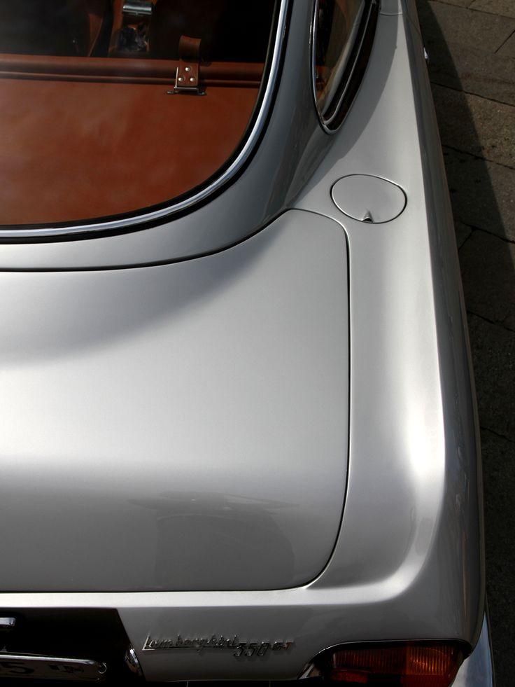 Silver Lamborghini 3500GT