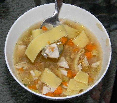 Homemade Crock Pot Chicken Soup   Yummy Food   Pinterest